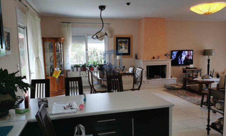 ενιαίος χώρος κουζίνα-τραπεζαρία-σαλόνι